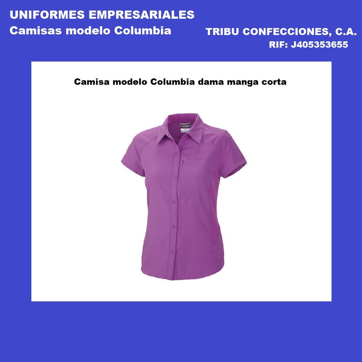 camisa tipo columbia dama uniformes empresariales confeccion. Cargando zoom. e36deac123349