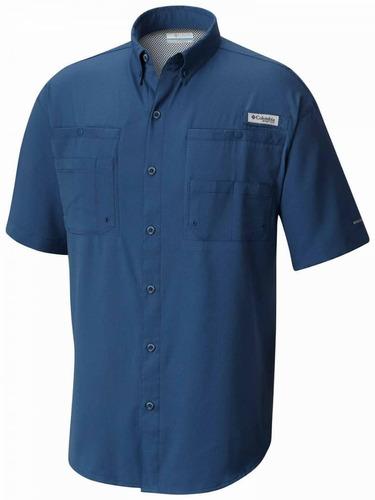 camisa tipo columbia uniforme dama caballero fabrica tienda
