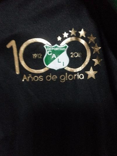 camisa tipo polo deportivo cali 100 años.