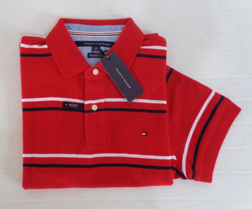 camisa tipo polo tommy hilfiger. talla large.