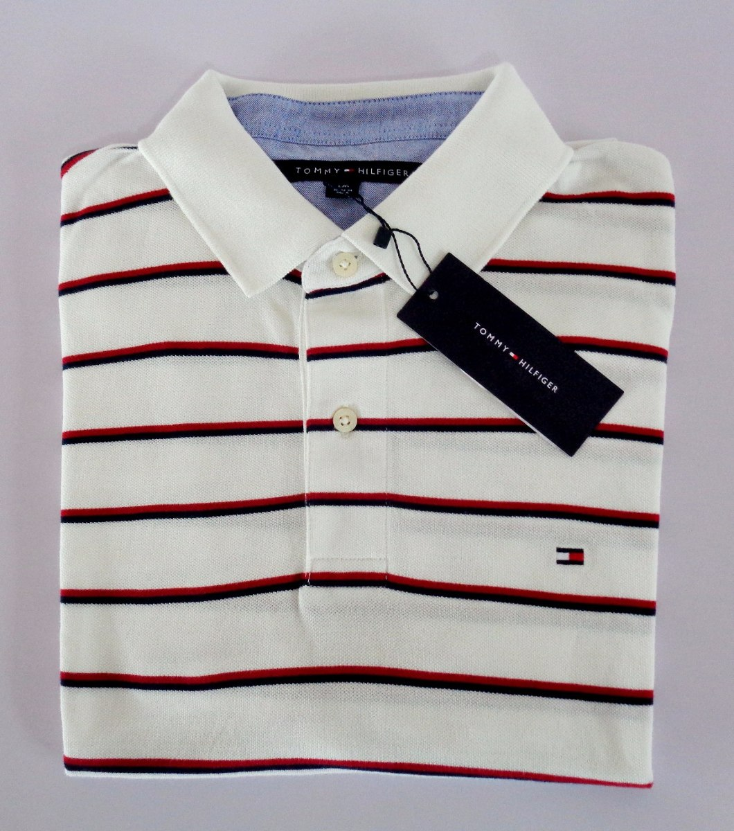 camisa tipo polo tommy hilfiger. talla large. Cargando zoom. ab03ca4757a84
