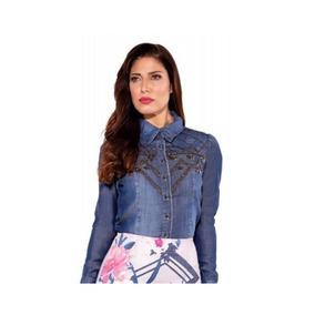 9009116e3c Camisa Titanium Jeans Com Aplicações Em Pedrarias Ttn 24179
