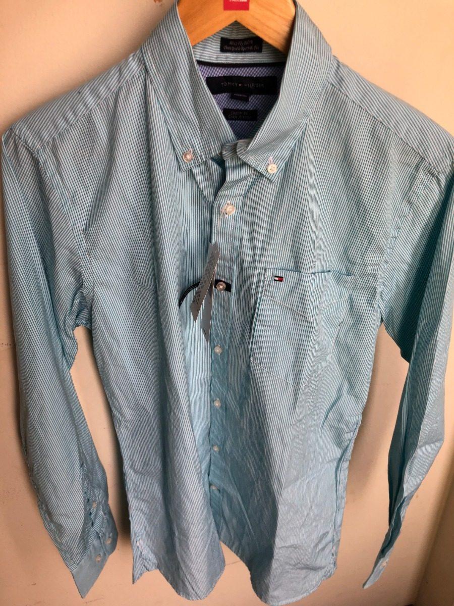 Camisa Tommy Hilfiger 80 s 2 Ply Fabric Original 2018talla S - S ... a67f0d371e1