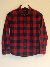 593391503 Camisa Cuadrille Roja Y Negra Para Niñas - Ropa y Accesorios en ...