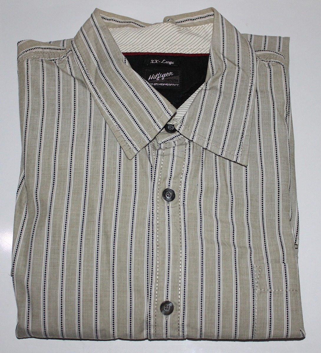 5f5d4eb1cb0 camisa tommy hilfiger denim caballero original manga larga. Cargando zoom.