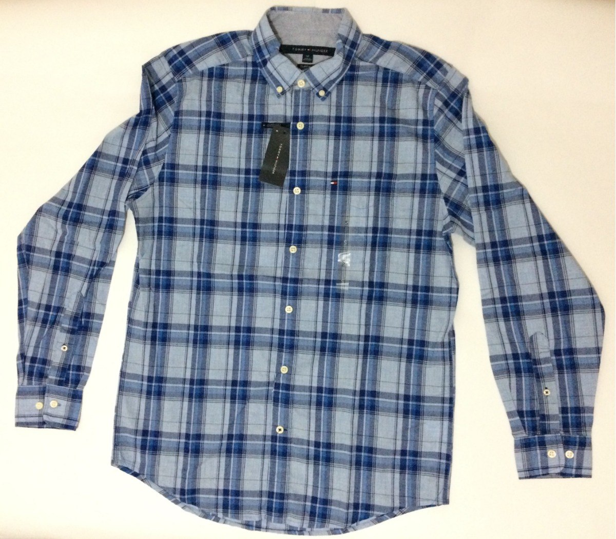 Camisa Tommy Hilfiger Hombre Manga Larga -   130.000 en Mercado Libre f671156e45a