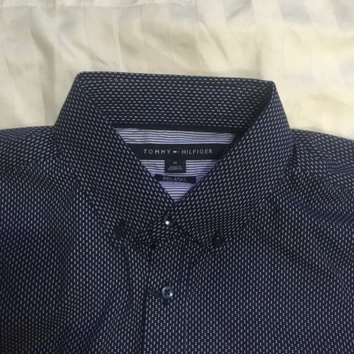 camisa tommy hilfiger hombre talla m
