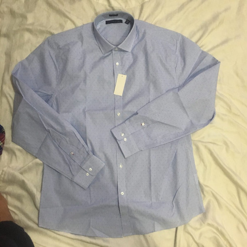 camisa tommy hilfiger large hombre