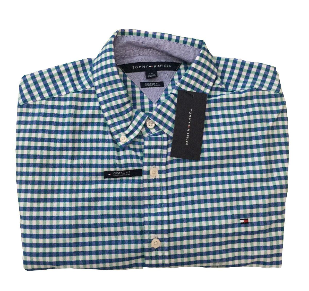 6c954217d8f48 Camisa Tommy Hilfiger Manga Larga Custom Fit Cuadros -   999.00 en ...