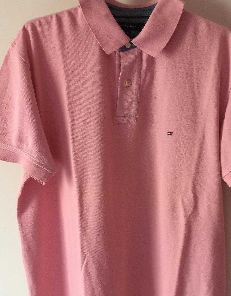 e4ba2f6d2a camisa tommy hilfiger masculina gola polo rosada xl. Carregando zoom.