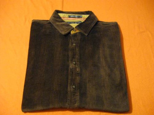camisa tommy hilfiger talla xl manga larga impecable