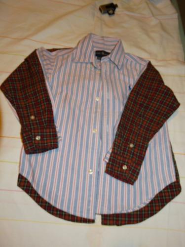 camisa tommy hilfiger - tam 4