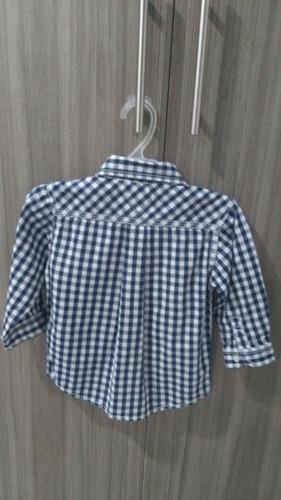 camisa tommy para bebé manga larga.