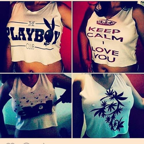 camisa top crop