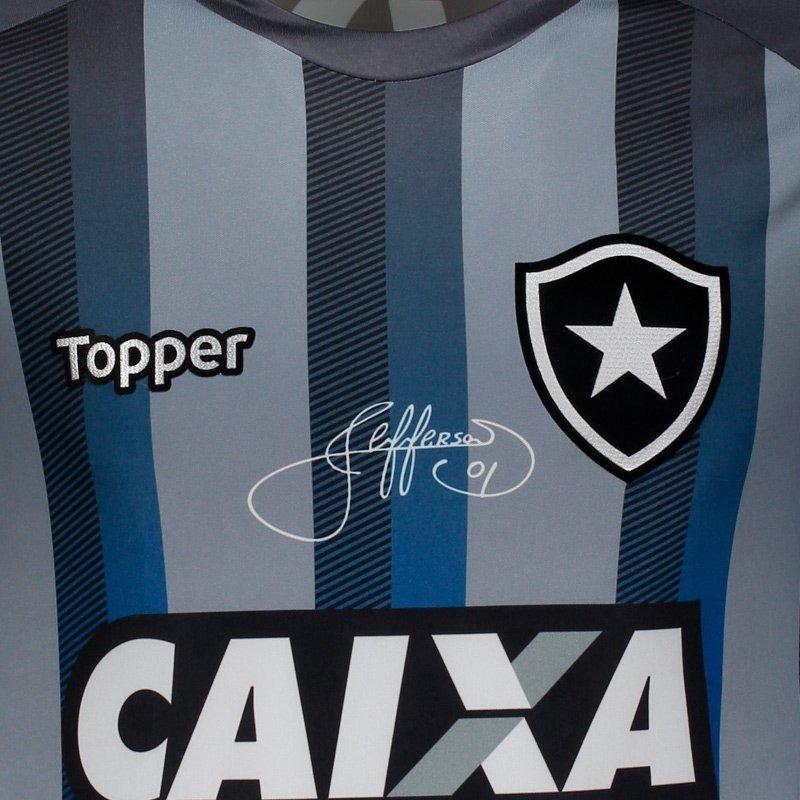 7c1c83a05 Camisa Topper Botafogo 2018 Despedida Jefferson - R$ 249,90 em ...