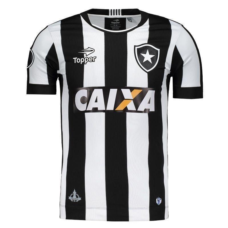 99c86092f2 Camisa Topper Botafogo I 2016 Libertadores - Futfanatics - R  179