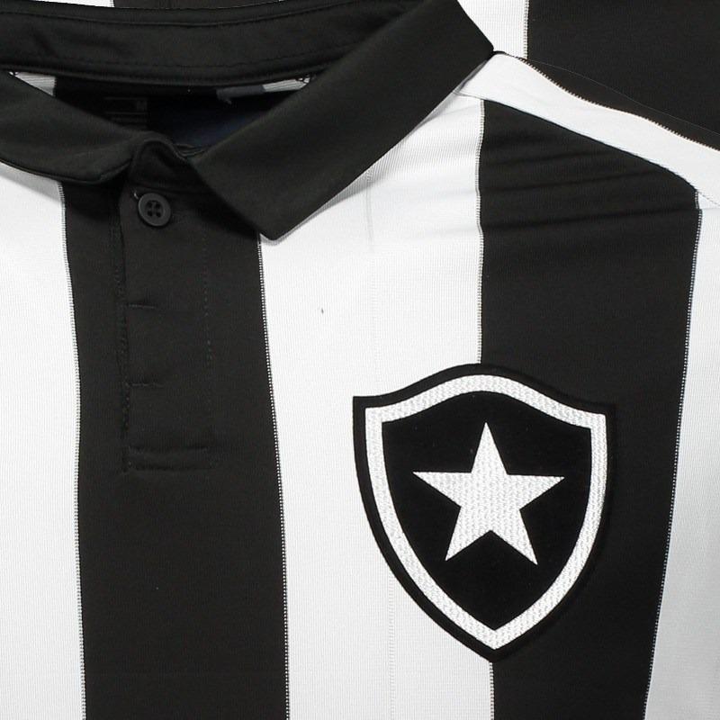 Camisa Topper Botafogo I 2017 Patrocínio 4200982 Pto 22499f7494dca