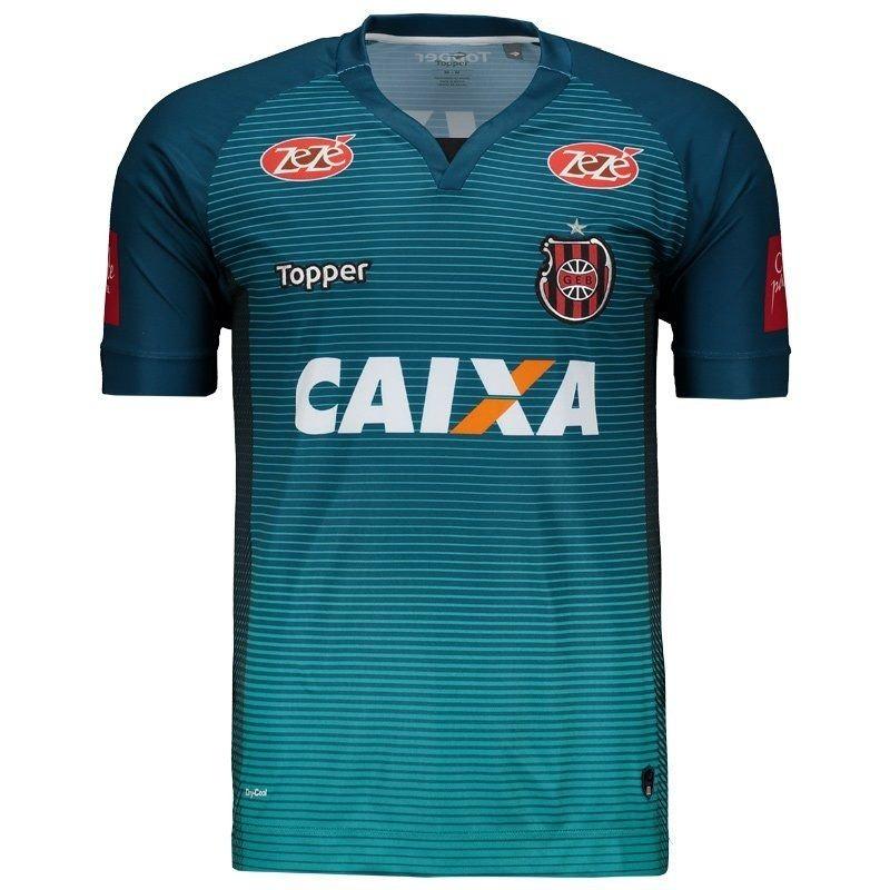 camisa topper brasil de pelotas goleiro 2017. Carregando zoom. a34fe4d4af5e1