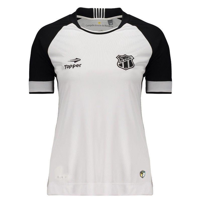 3dfa594952 camisa topper ceará ii 2016 feminina. Carregando zoom.