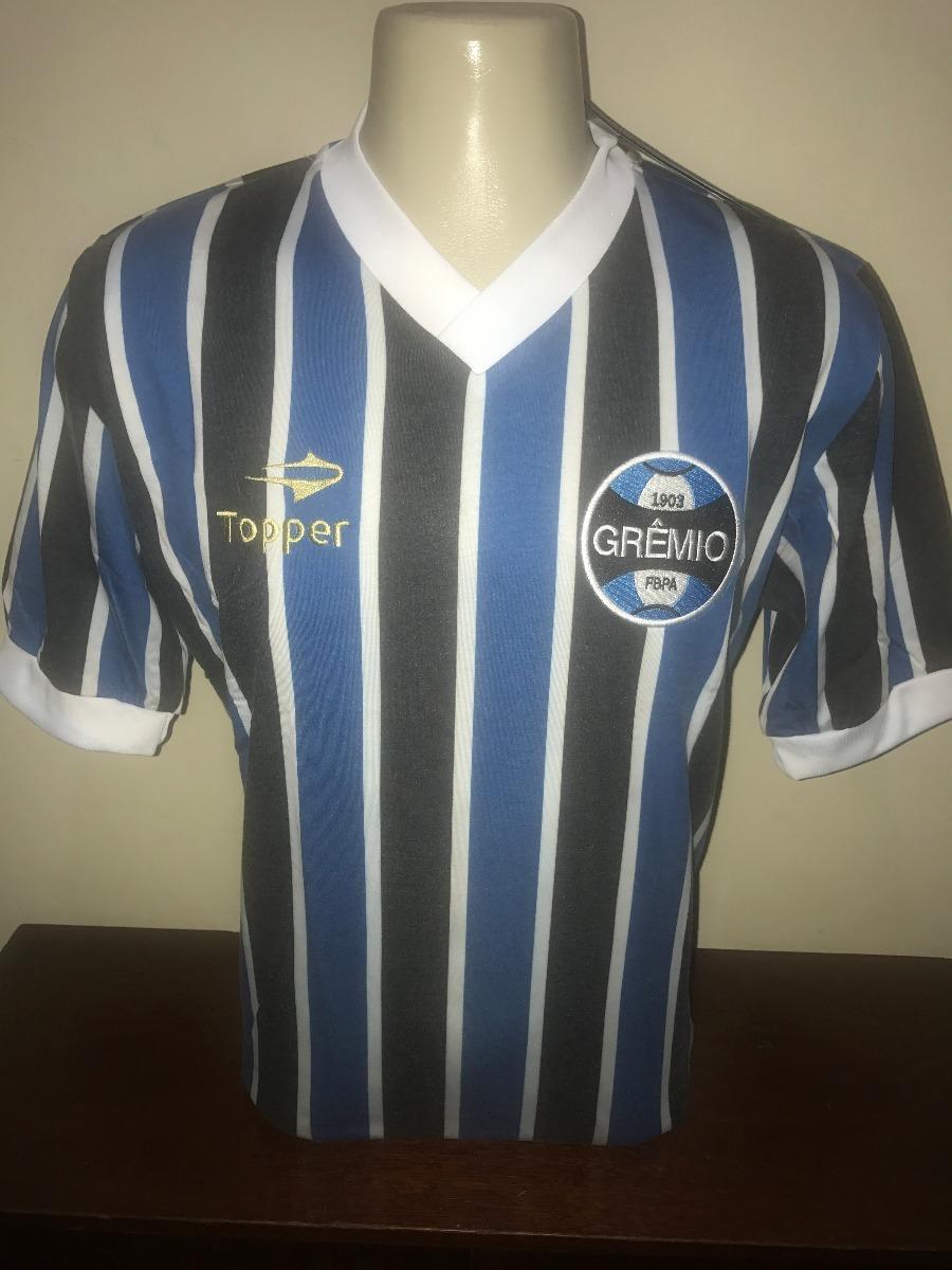 Camisa Topper Gremio Retro  7 Mundial 83 Tamanho Gg - R  160 f9be0b77e8adc