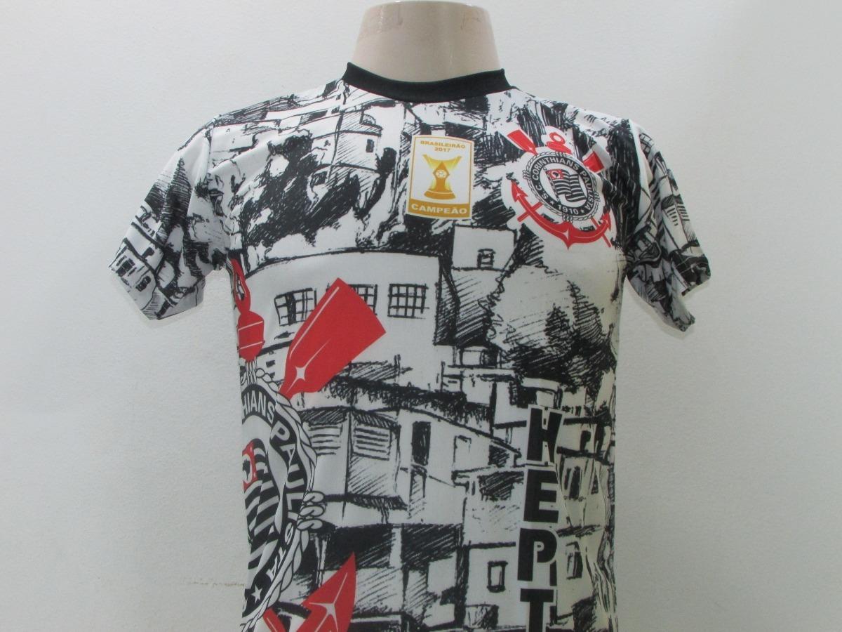 86e3fb24de9bd3 Camisa Torcedor Corinthians Favela - R$ 29,90 em Mercado Livre