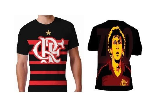 3c067751eb278 Camisa Torcedor Flamengo (zico) - R  60