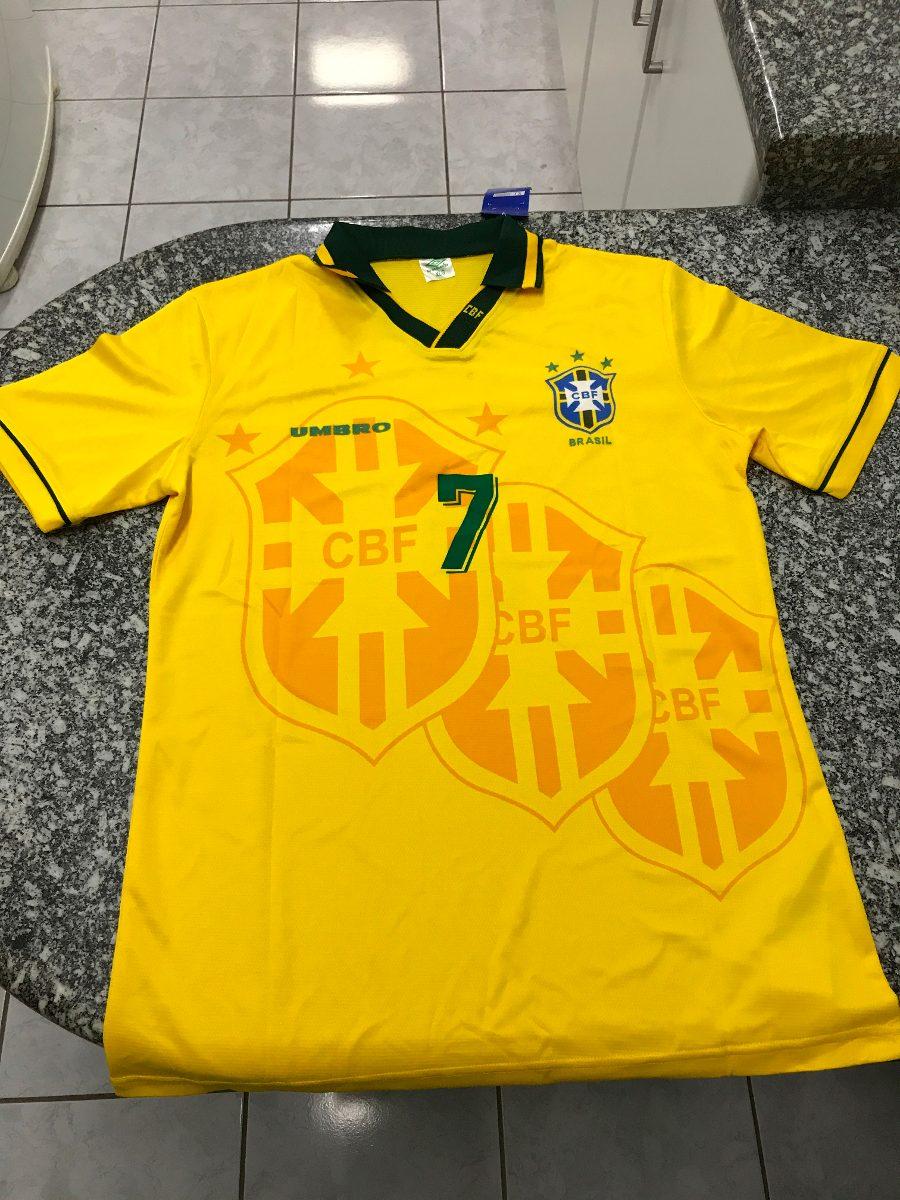 37a1dba903ec9 camisa torcedor umbro seleção brasileira 94 allejo 7. Carregando zoom.
