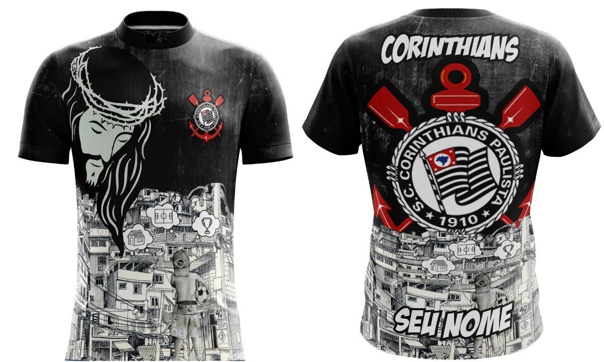 Camisa Torcida Corinthians 8b02bd3ec10bc