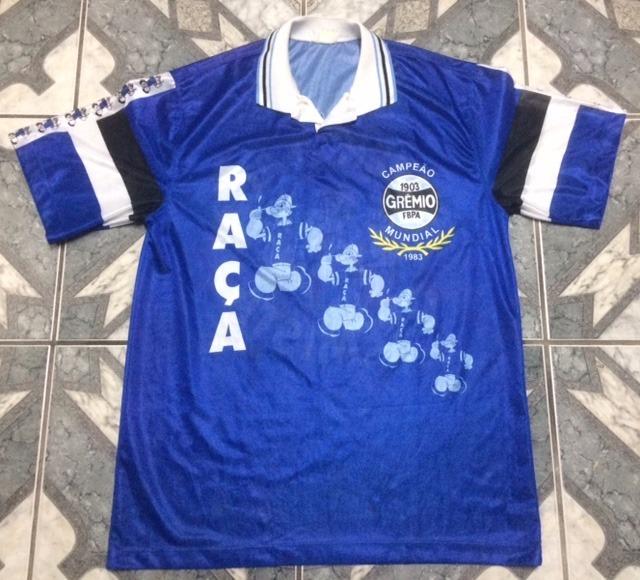Camisa Torcida Do Grêmio Super Raça - R  100 daa2abd403a83