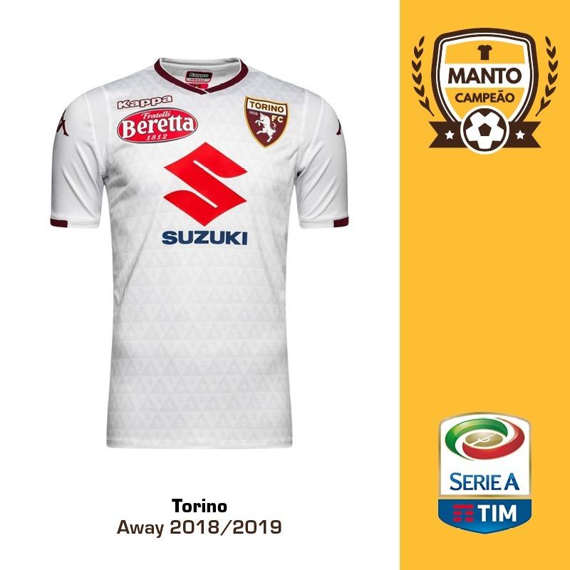 7832ccefa3657 camisa torino 2018 2019 away uniforme 2 belotti zaza aina. Carregando zoom.