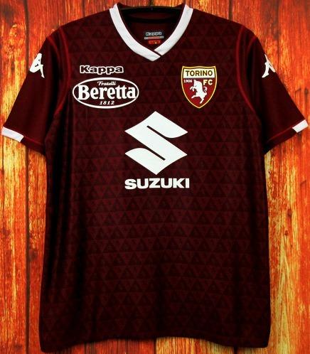 Camisa Torino 2018 2019 Home Uniforme 1 Belotti Zaza Aina - R  125 ... eec523a356574