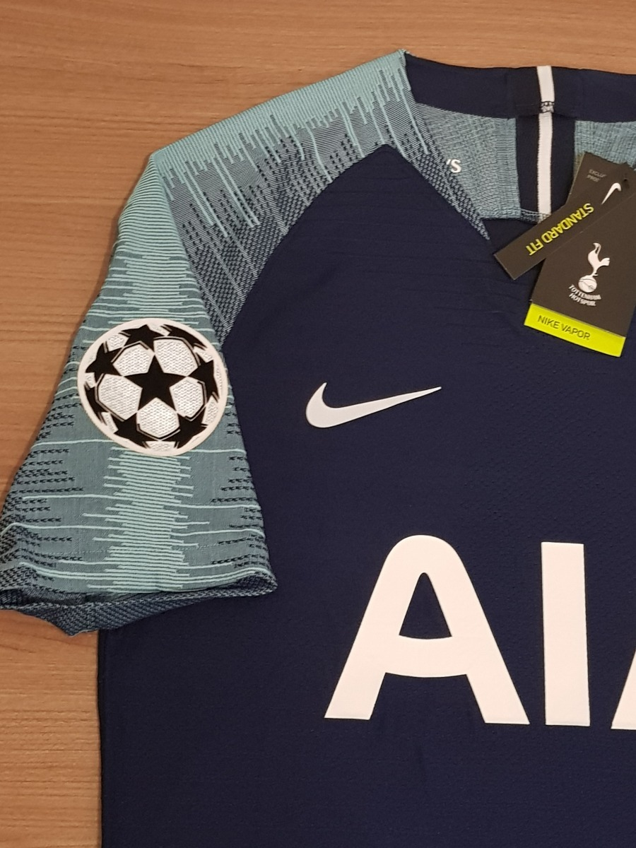 5df77f1c56f7b Camisa Tottenham Away 2019 Vaporknit Kane 10 Pronta Entrega