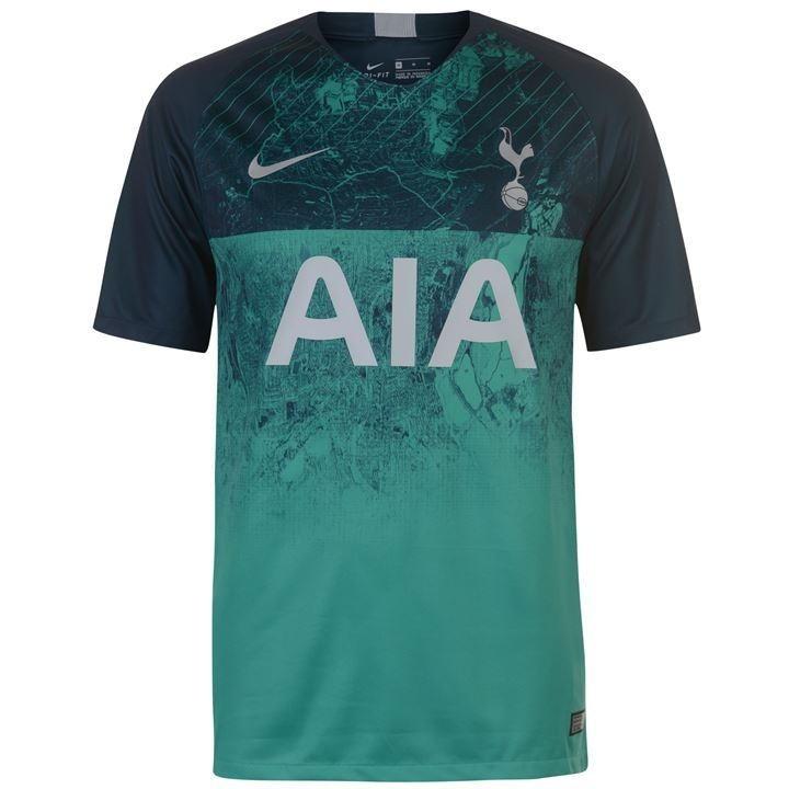 Camisa Tottenham Verde 18/19 Nike Oficial Torcedor Masculina - R$ 124,00 em Mercado Livre