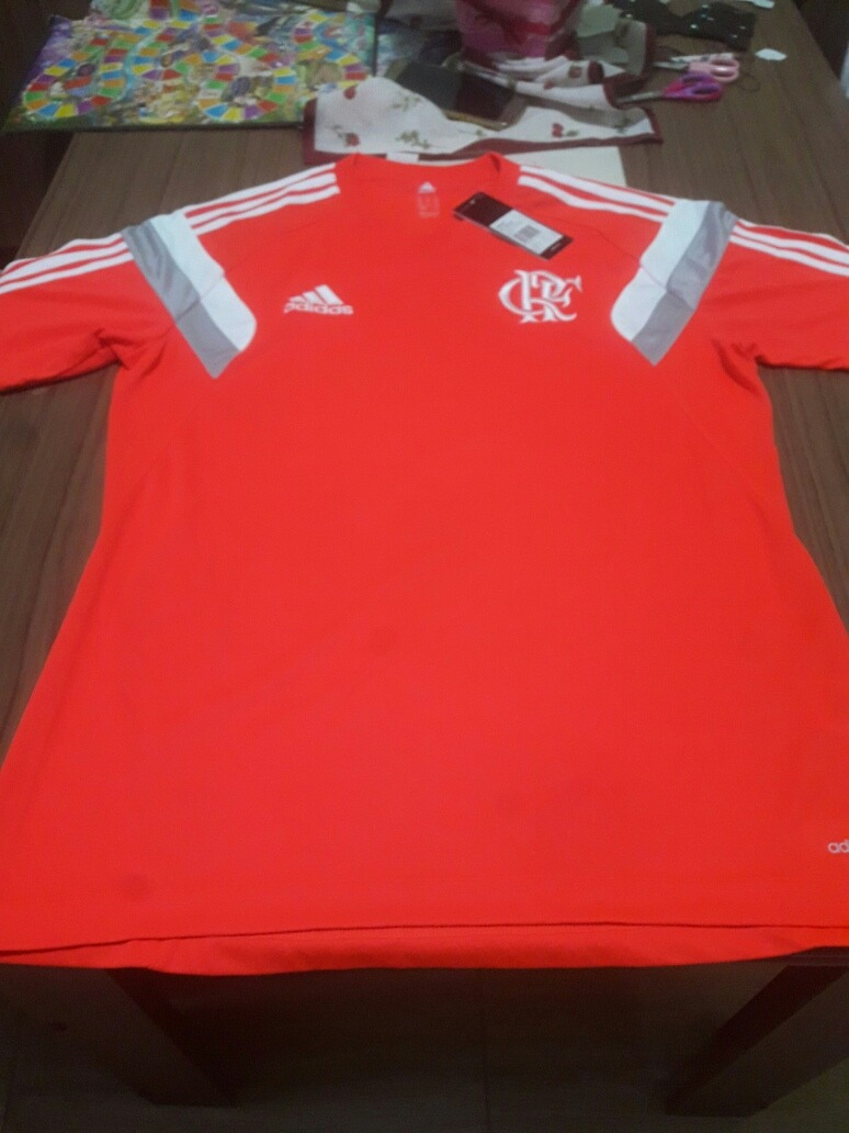 camisa treino flamengo adidas laranja. Carregando zoom. 7a5027d4e97da