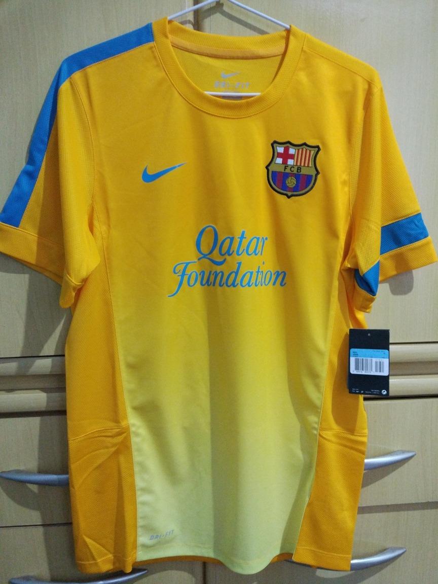 camisa treino nike barcelona 2012 2013. Carregando zoom. dbc3430a73176