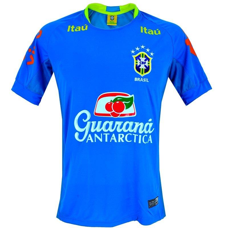 camisa treino seleção brasileira 2018 copa varias cores. Carregando zoom. 7a46b0b38a5a3