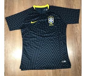0ec6e26bc0 Camisa De Treino Vermelha Da Seleção Brasileira no Mercado Livre Brasil