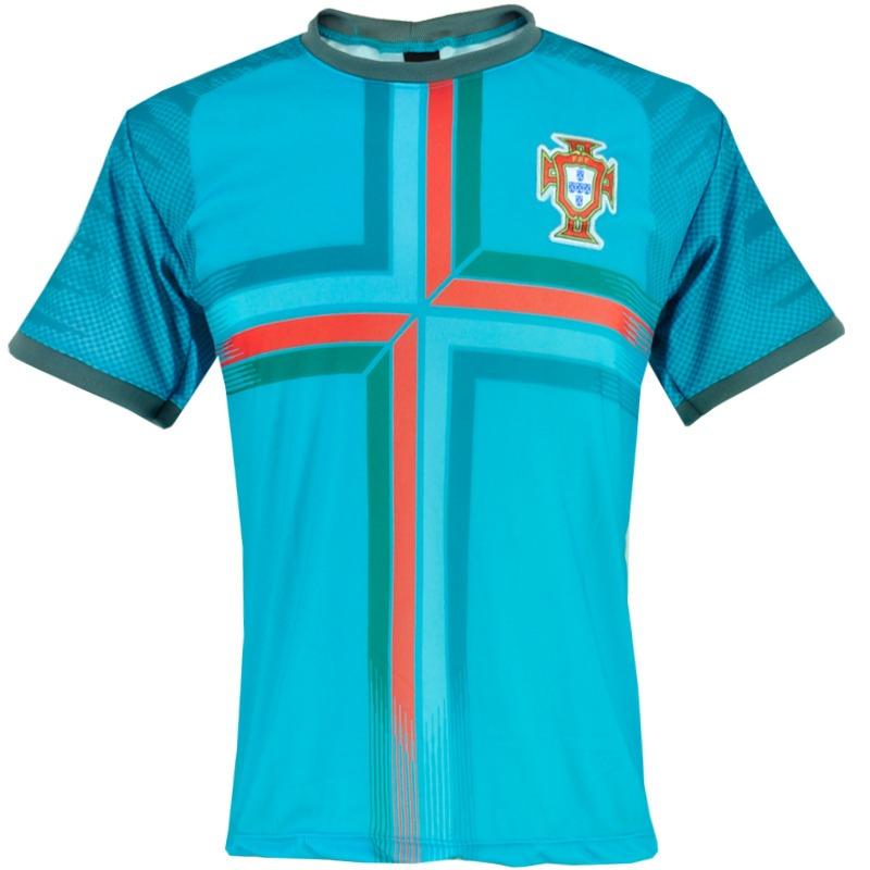 camisa treino seleção portugal 2018 copa russia azul ceu. Carregando zoom. c45e871a6f14f