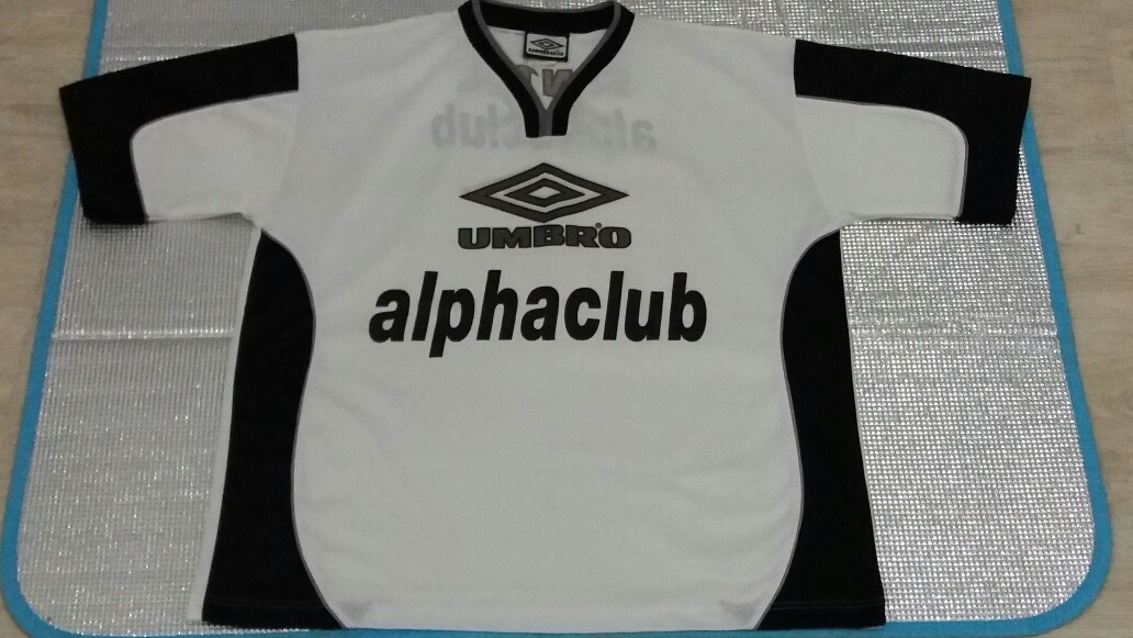 camisa treino umbro santos patrocínio alphaclub. Carregando zoom. 3843ad77eed79