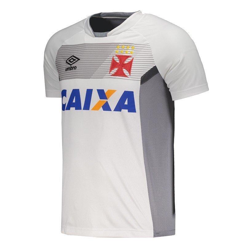 camisa treino vasco oficial umbro jogador branca 2017 2018. Carregando zoom. 0e73a1e88e030