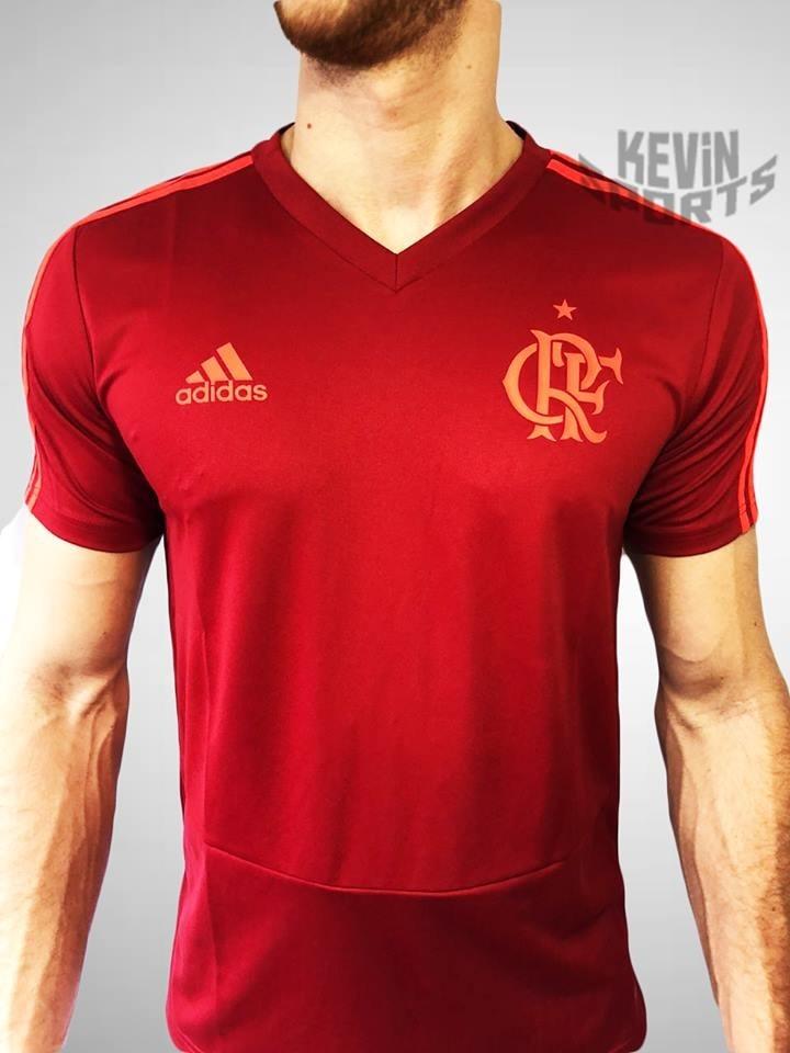 6d94203412 Carregando zoom... camisa treino vermelha original flamengo ...