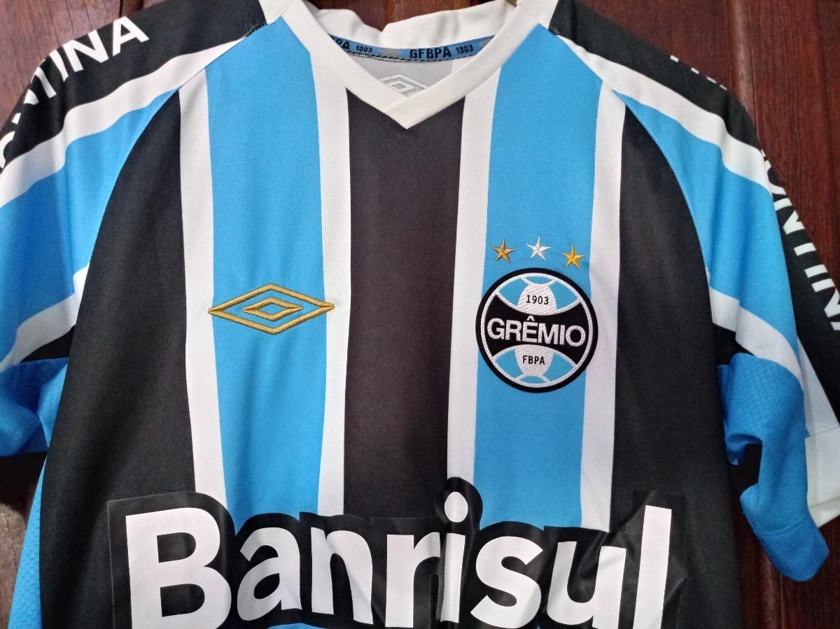 Camisa Tricolor Gremio Umbro Oficial 2014   2015 d9b7b4dd4e06d