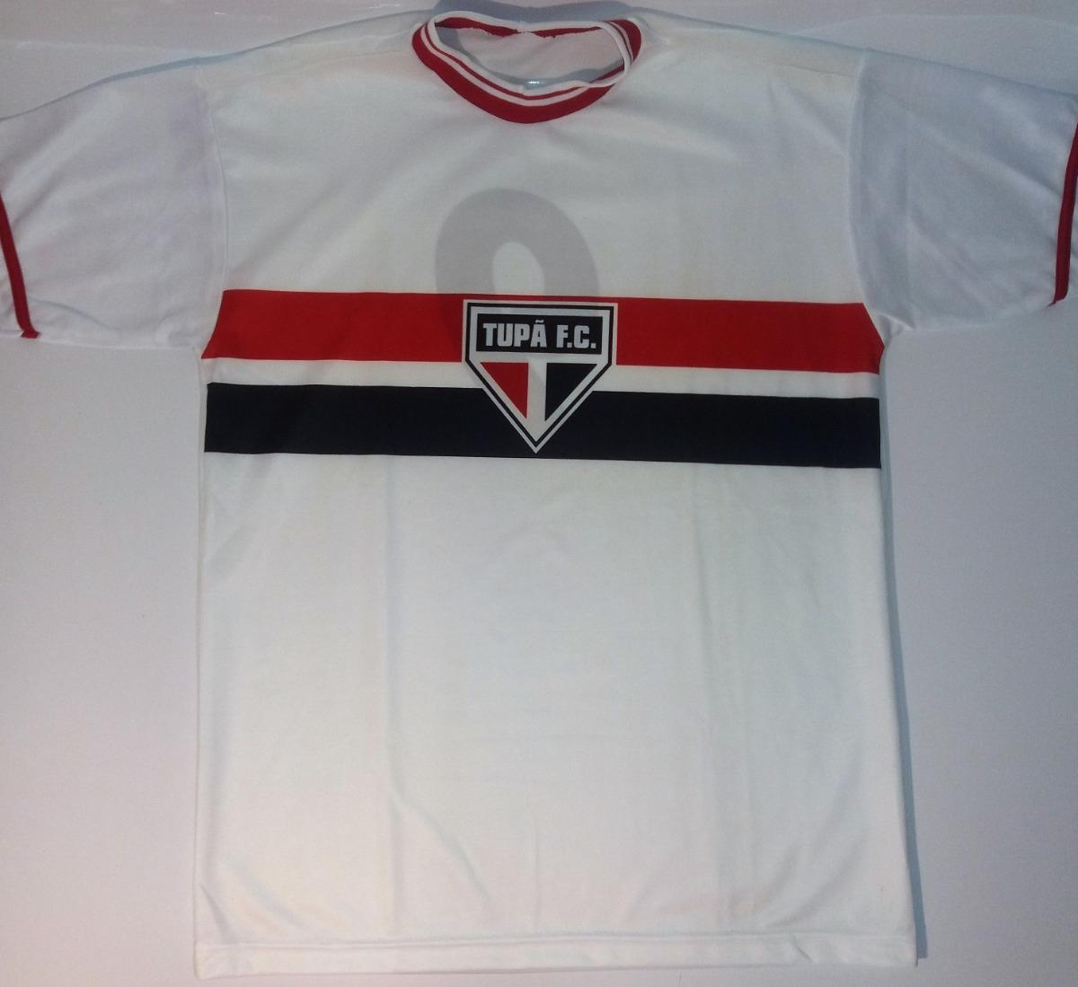 3c87d2c921 Camisa Tupã Futebol Clube Sp  antiga  rara  indio  guerreiro - R  59 ...