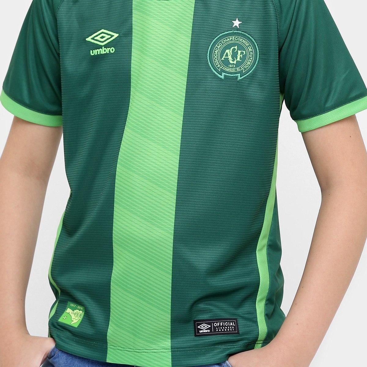 1ce280d175 Camisa Umbro Chapecoense Juvenil Iii 16/17 Torcedor - R$ 139,90 em ...