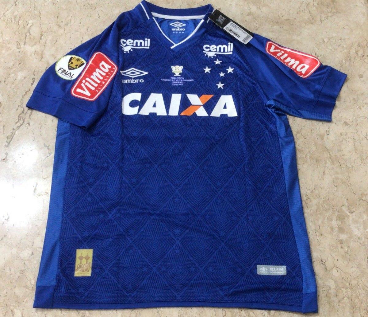 2bcc6c6232 camisa umbro cruzeiro final copa do brasil 2017. Carregando zoom.