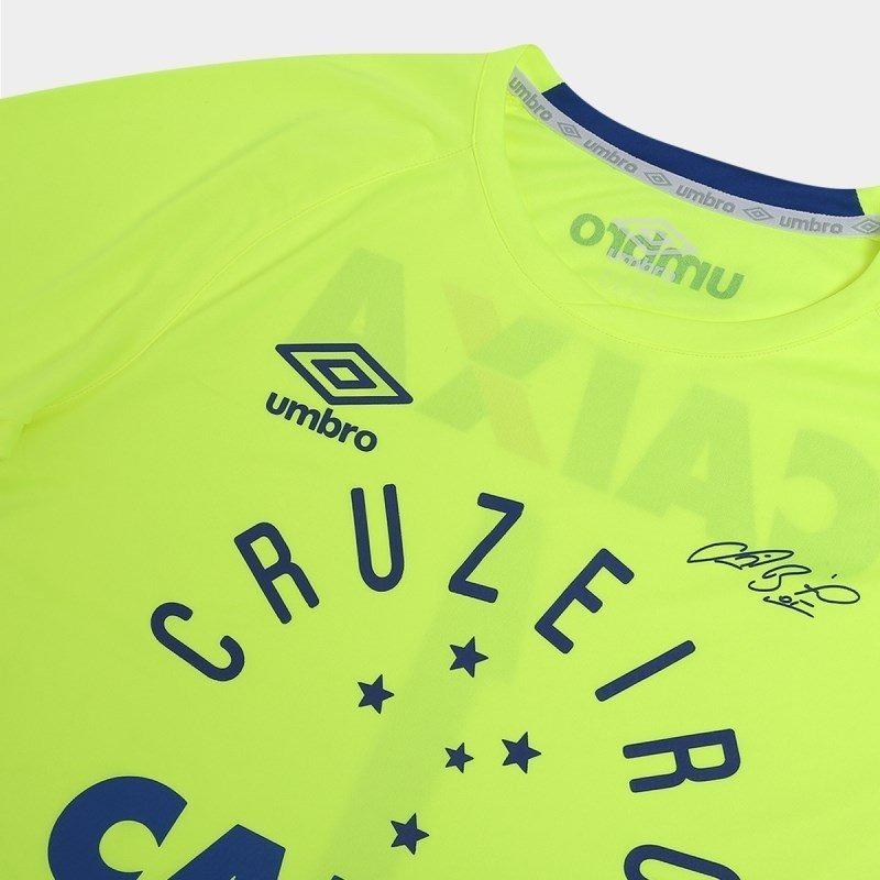 camisa umbro cruzeiro goleiro 3e05000 - verde e azul. Carregando zoom. f81dbcde1bb9f