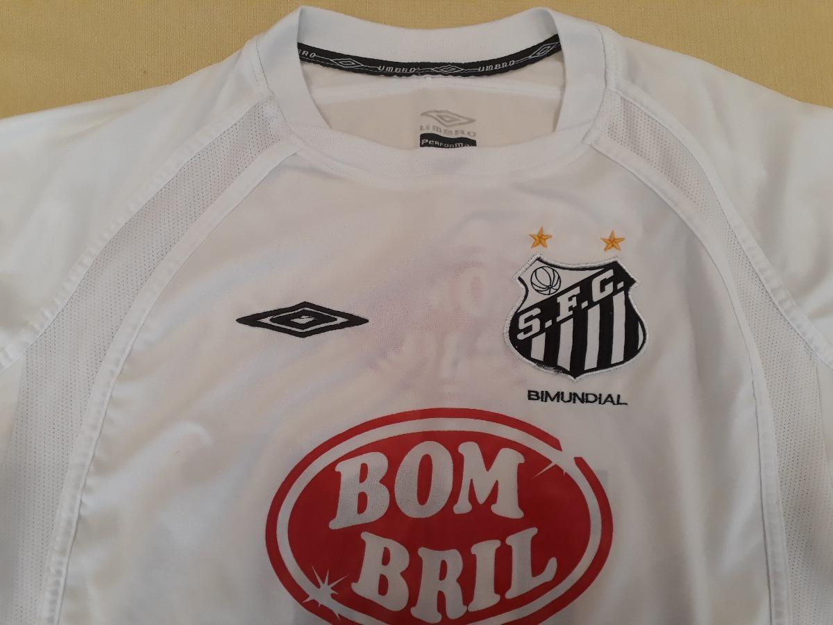 b44c0685a5cab camisa umbro do santos 2004 campeão brasileiro bombril - 17. Carregando  zoom.