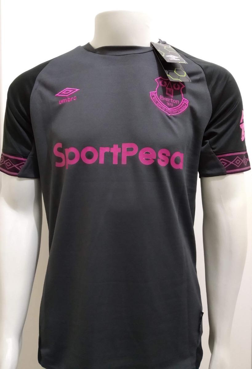 62786a6e0cbcf camisa umbro everton 2018/2019 away uniforme 2 richarlison. Carregando zoom.
