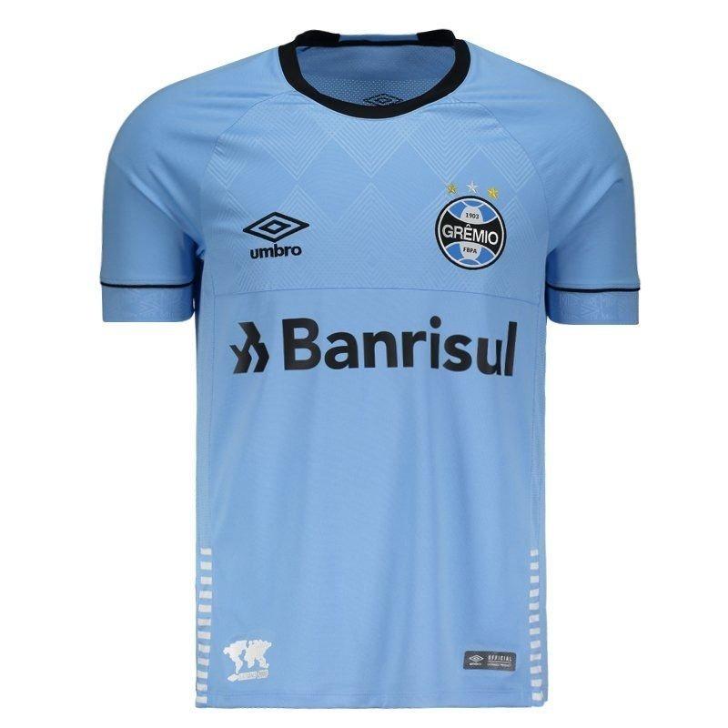 9625a87cde Camisa Umbro Grêmio Charrua 2018 S/patr - R$ 190,00 em Mercado Livre
