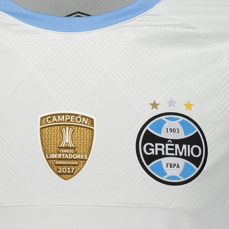 b3a4d3e11e265 camisa umbro grêmio ii 2018 n° 10 libertadores jogador. Carregando zoom.